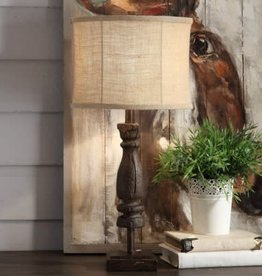 Crestview Crestview Wooden Relic Table Lamp