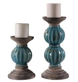 Crestview Crestview Lexa Candle Holder Set