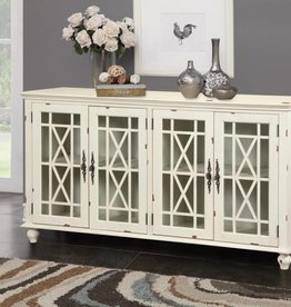 Kith Furniture White Distressed Accent Chest