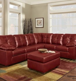 Washington Furniture TY Red Sectional