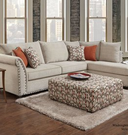 Washington Furniture Patton Beige 2pc Sectional