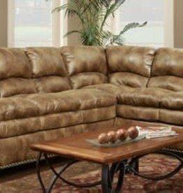 Washington Furniture Padre Almond 2pc Sectional