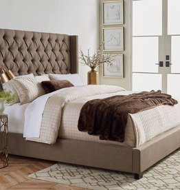 CLS Westerly King Upholstered Bed