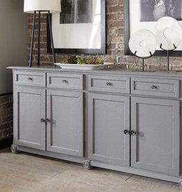 """Kith Furniture 70"""" Rustic Gray Console"""