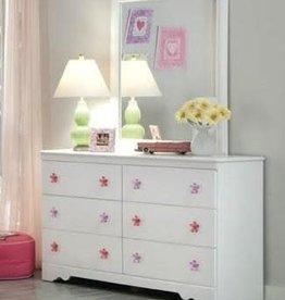 Kith Furniture Savannah White Dresser