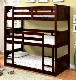 FOA Triple Deck Twin Bunkbed