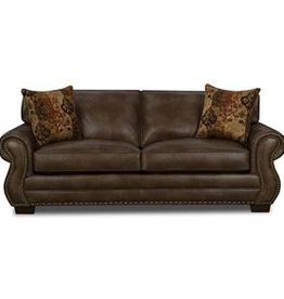 Corinthian Ulysses Chocolate Sofa