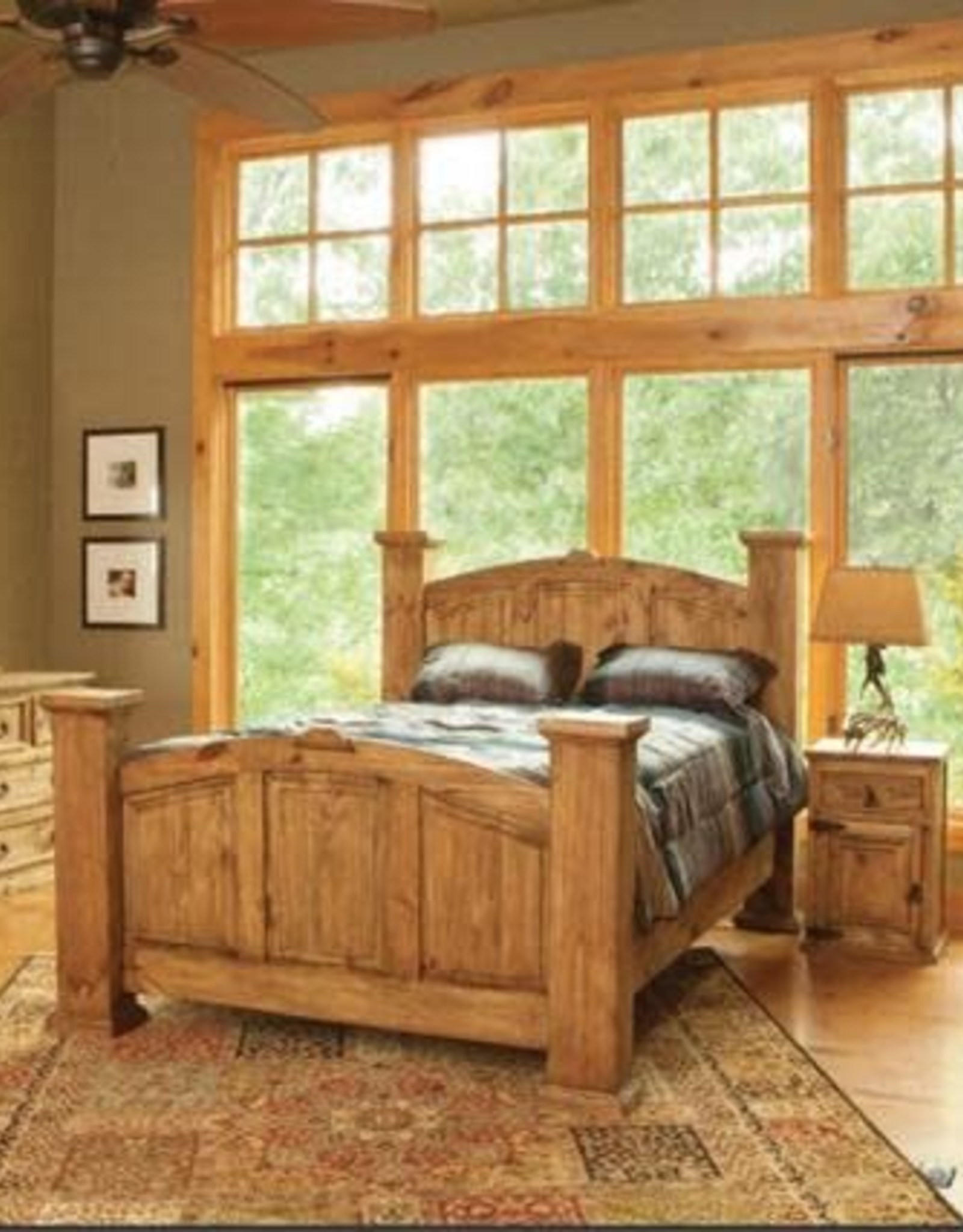 CLS Rustic Mansion Nightstand