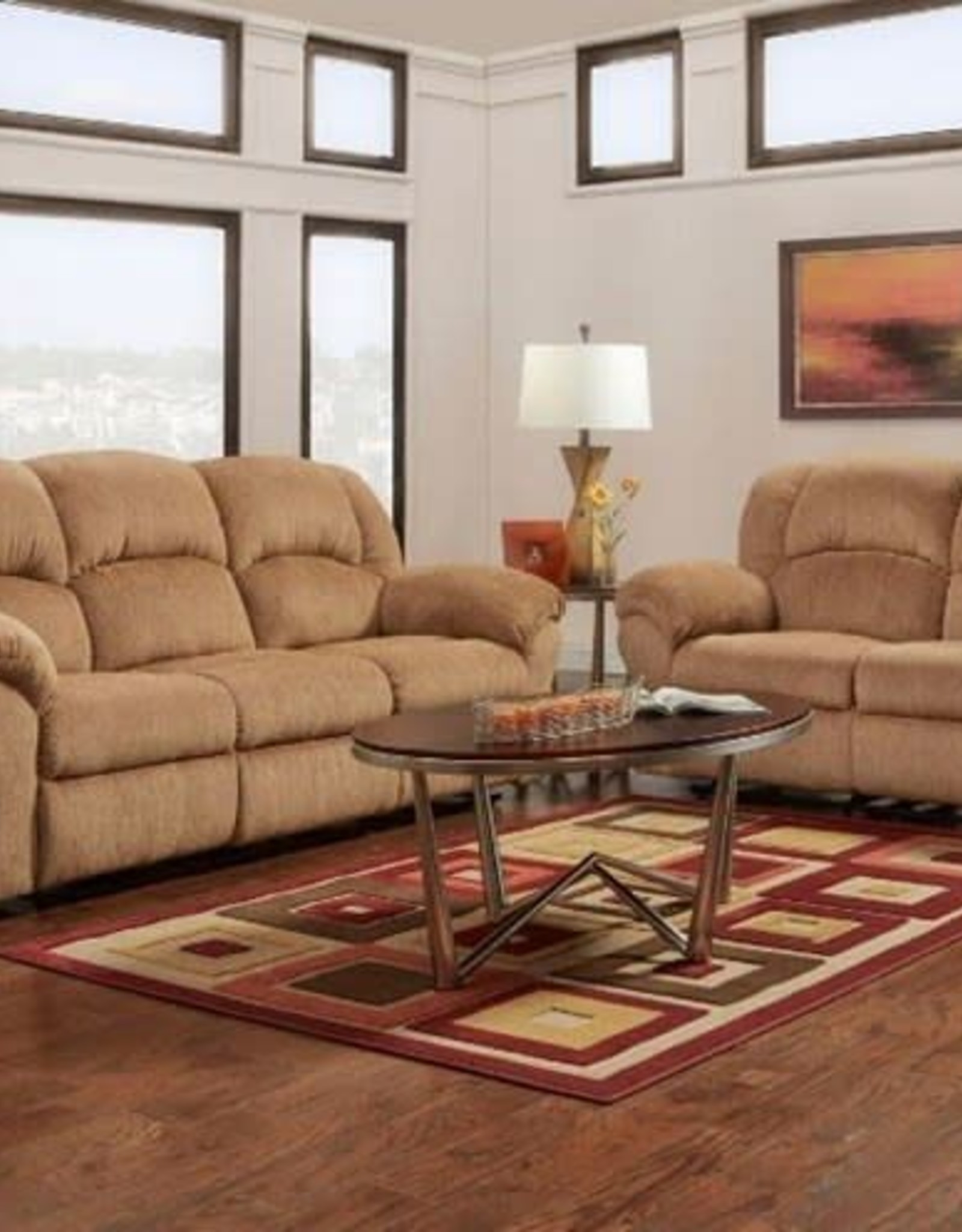 Affordable Furniture Aspen Mocha Motion Love