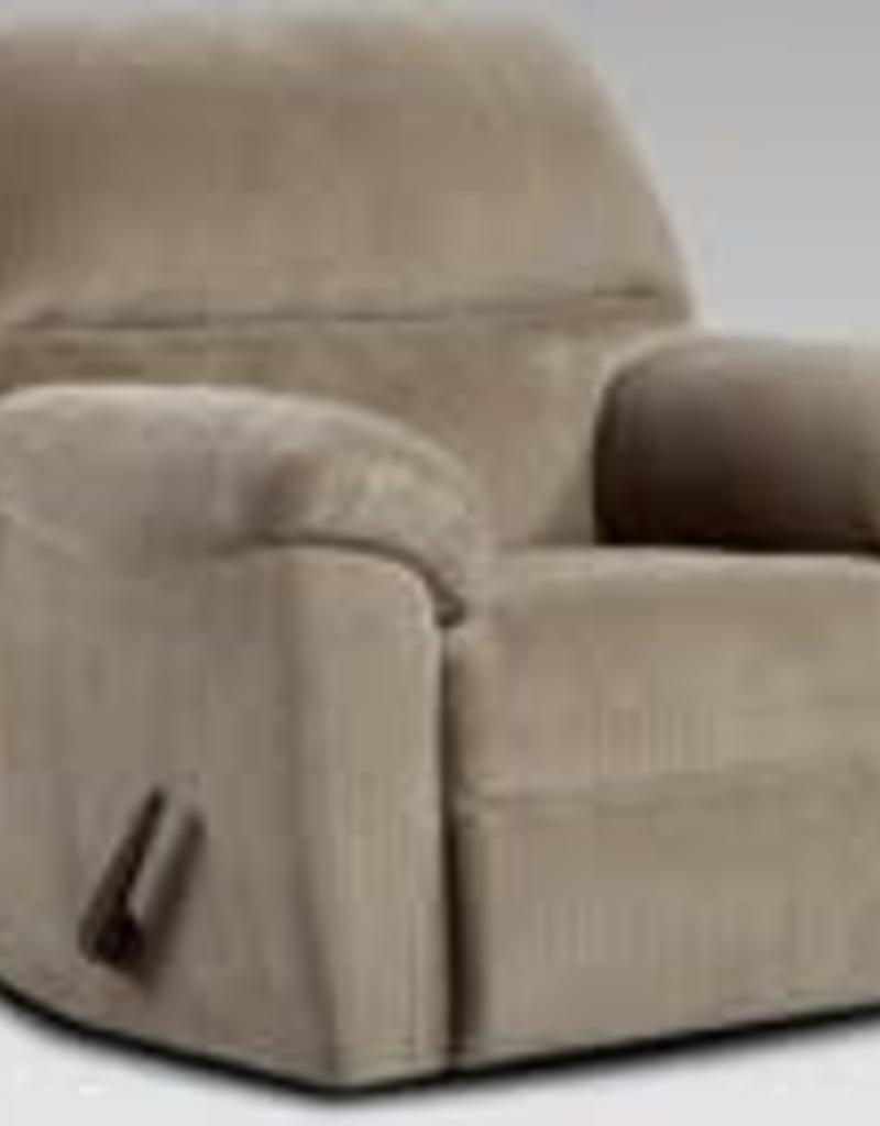 Affordable Furniture Chevron Seal Recliner