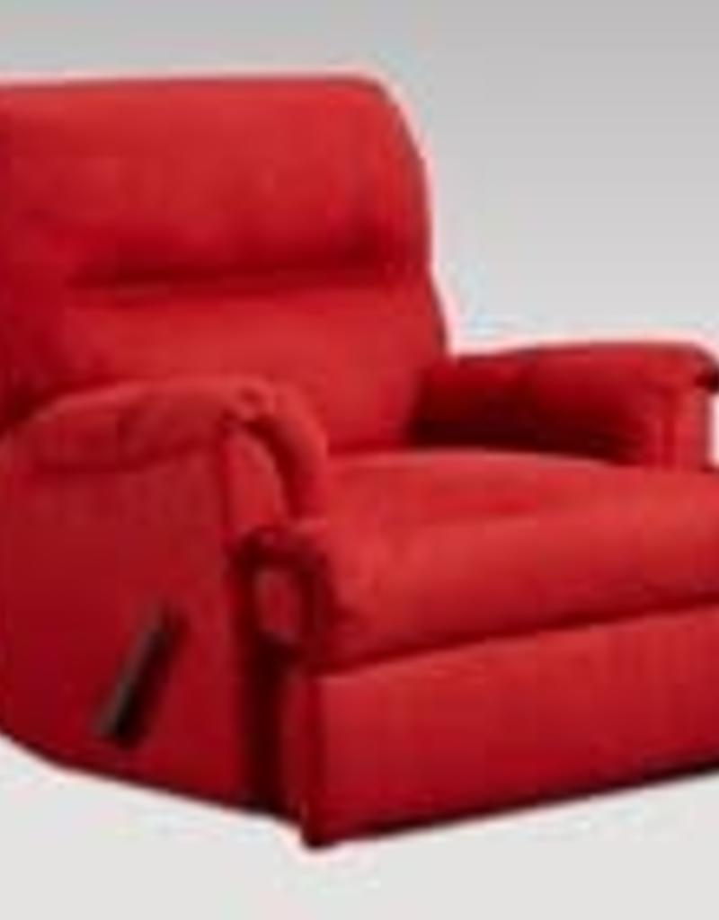 Affordable Furniture Sensation Red Brick Recliner
