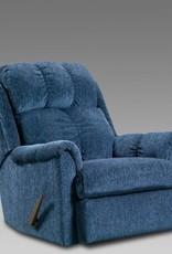 Affordable Furniture Tahoe Blue Recliner