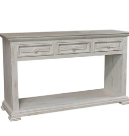 MYCO Santa Fe Sofa Table White