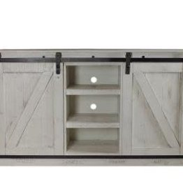 MYCO Barn Door Plasma Stand White