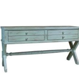 MYCO Xavier Sofa Table Green Aqua