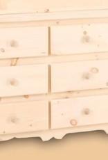 A&H Rustic 9D Dresser