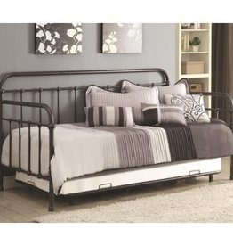 Coaster Daybed with Base Frame and Trundle Bed