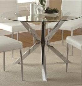 Coaster Chrome Table