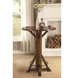 Coaster Bar Units and Bar Tables Rustic Round Bar Table