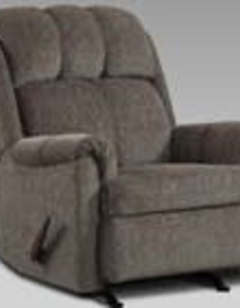 Affordable Furniture Tahoe Grey Recliner