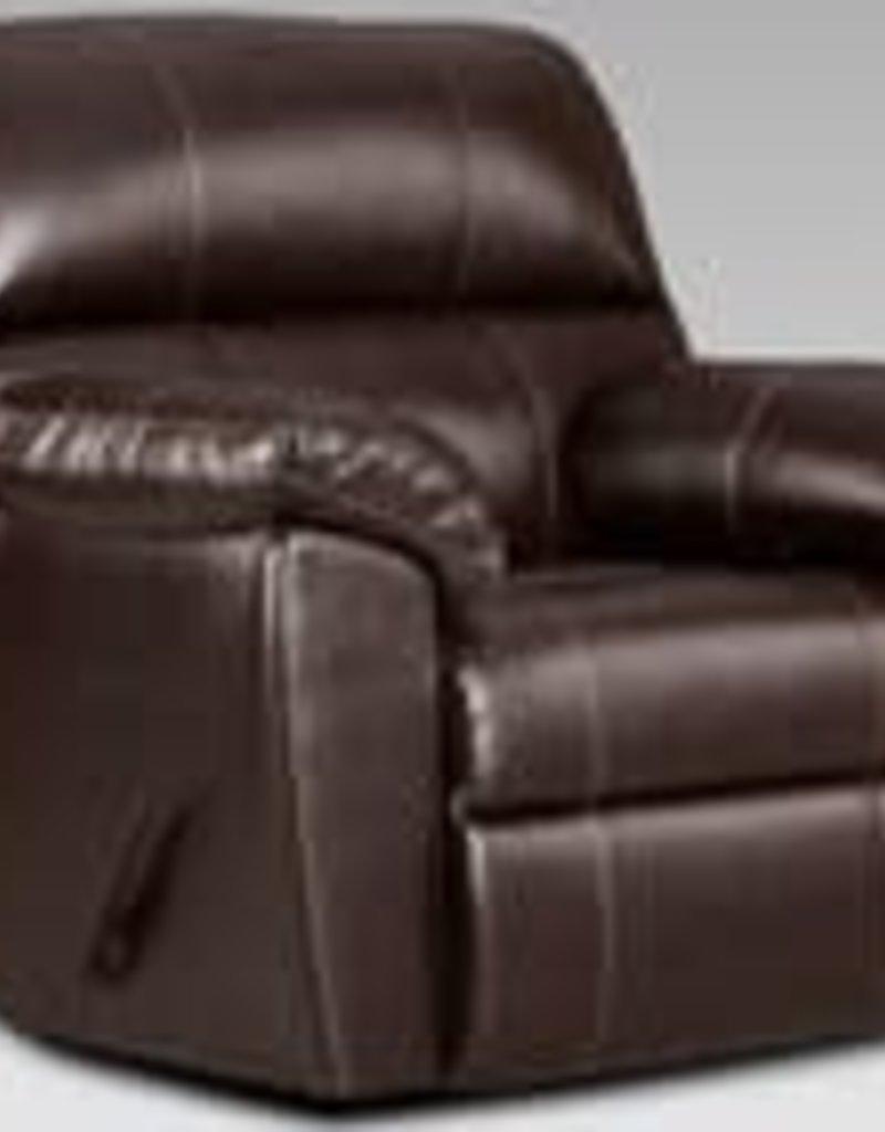 Affordable Furniture Austin Chocolate Recliner