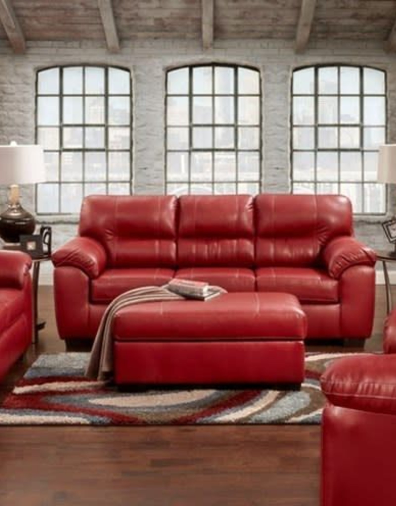 Affordable Furniture Austin Red Love