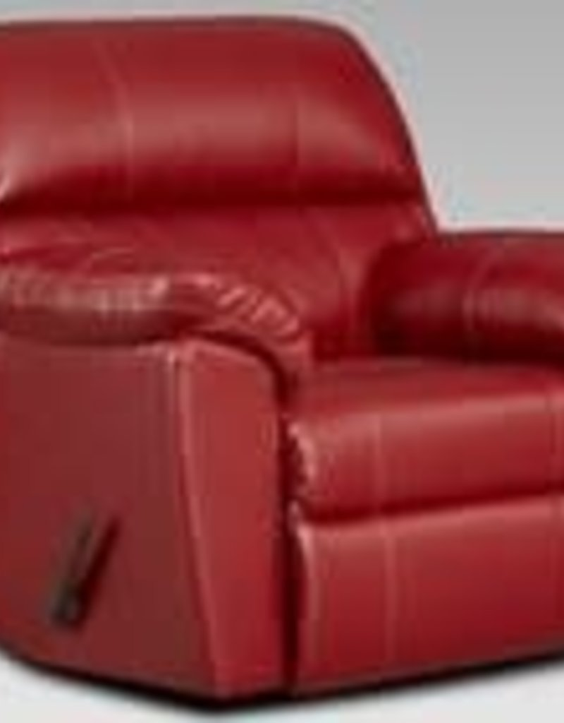 Affordable Furniture Austin Red Recliner
