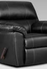Affordable Furniture Austin Black Recliner
