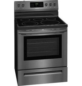 "Frigidaire Frigidaire 30"" Electric Range Black Stainless"