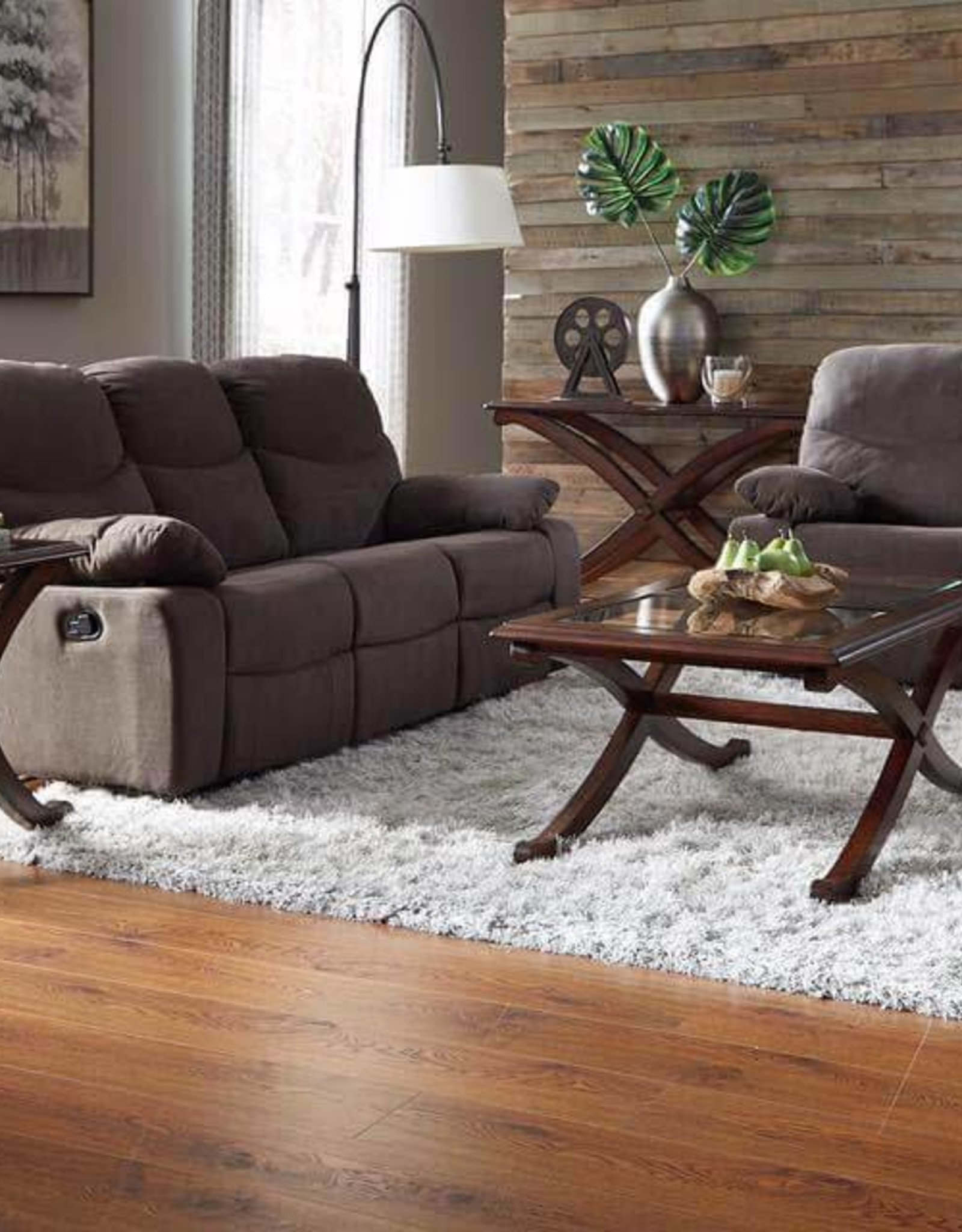 CLS Brant Reclining Sofa Love Recliner