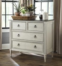 Kith Furniture Rustic White Grey Accent Console