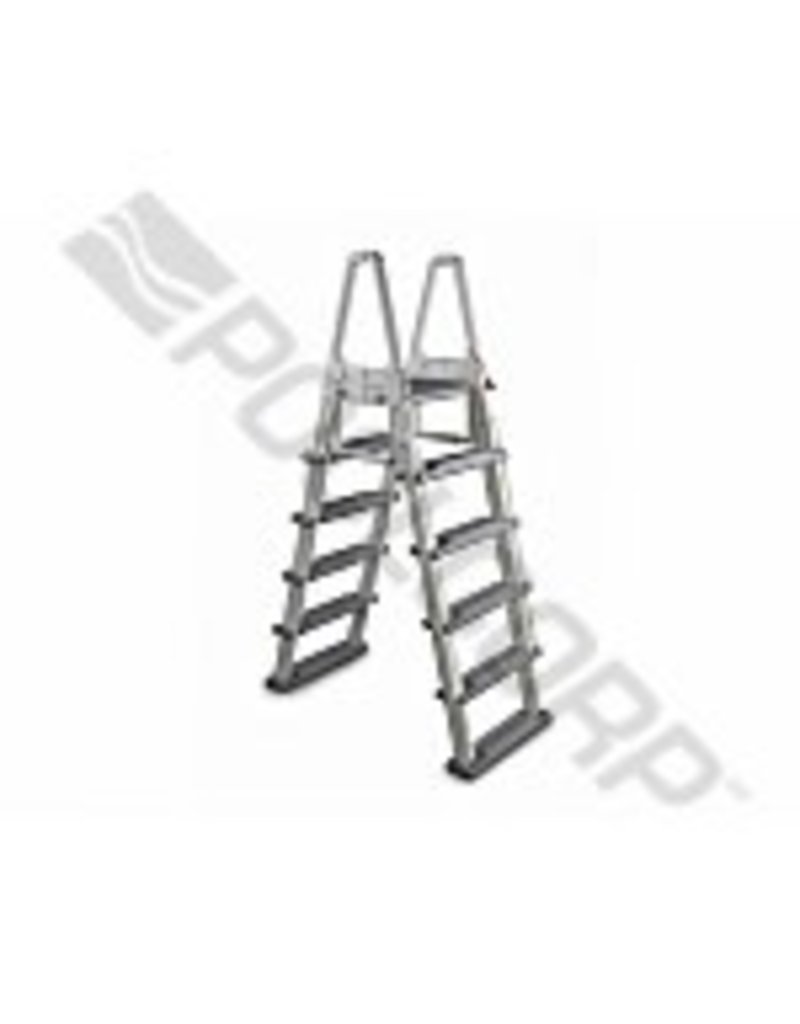 "SPS 48""-56"" WARM GRY HD AFRAME LADDER W/ BARRIER"