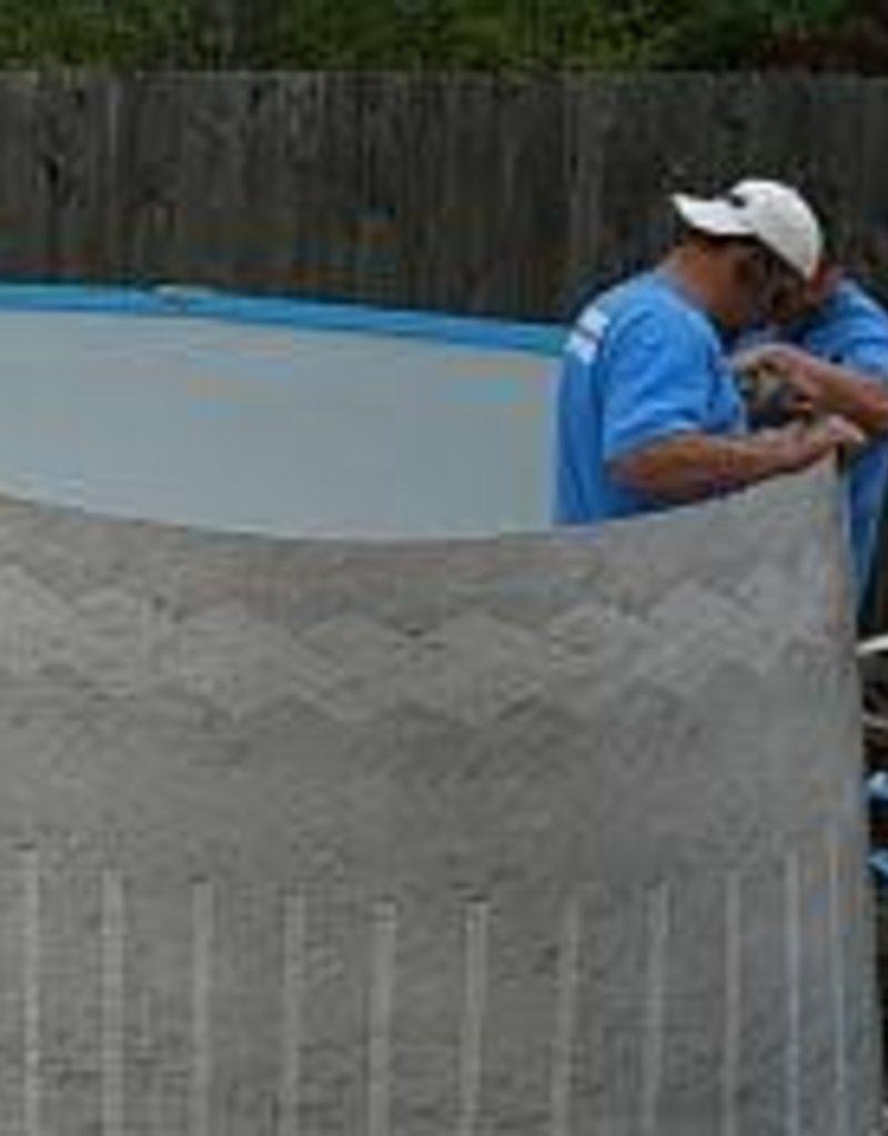 "30'x52"" Pool Installation"