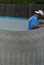 "18'X52"" Pool Installation"