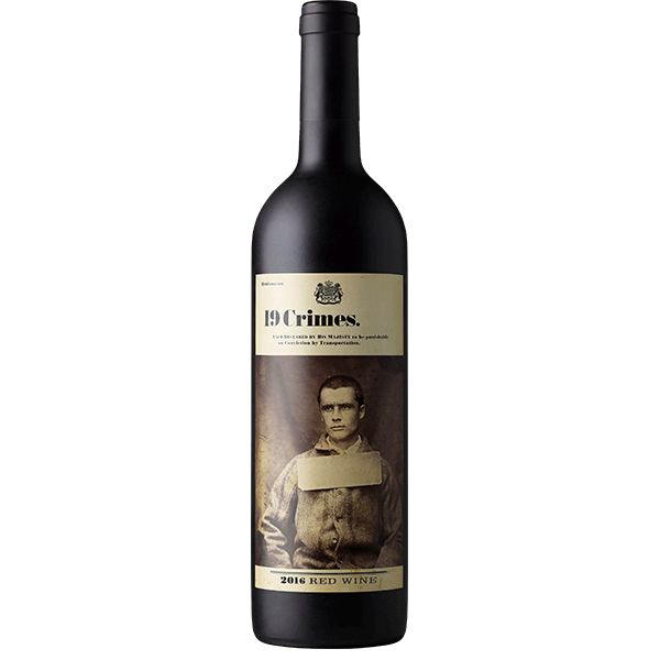 19 Crimes 2016 Red Blend ABV: 13.5% 750 mL