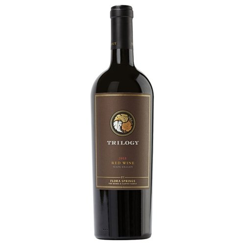 Flora Springs Trilogy Napa Valley 2015 Red ABV: 14.2% 750 mL
