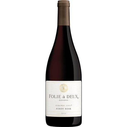 Folie à Deux Sonoma Coast 2017 Pinot Noir ABV: 14.1% 750 mL