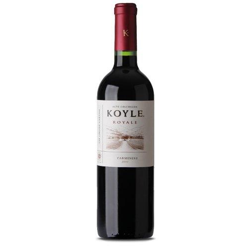 Koyle Royale 2013 Carmenere ABV: 14.5% 750 mL