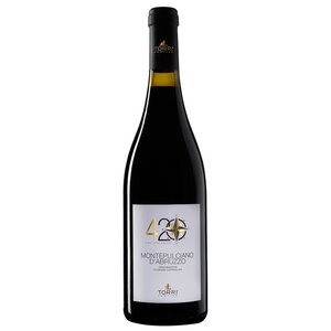 Torri Cantine 420 2016 Montepulciano d'Abruzzo ABV: 13.5% 750 mL