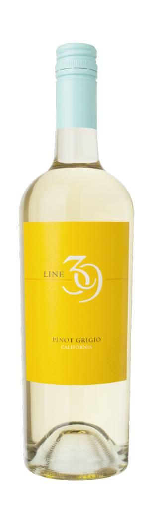 Line 39 2017 Pinot Grigio ABV: 13.5% 750 mL
