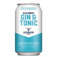 Cutwater Old Grove Gin & Tonic ABV: 6.2% Can 355 mL