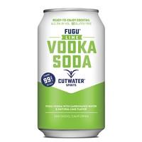 Cutwater Fugu Lime Vodka Soda ABV: 7% Can 355 mL