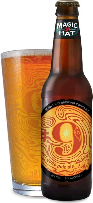 Magic Hat #9 Beer ABV: 5.1% Bottle 12 fl oz 6-Pack