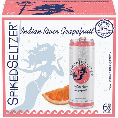 Spiked Seltzer ABV: 6% Can