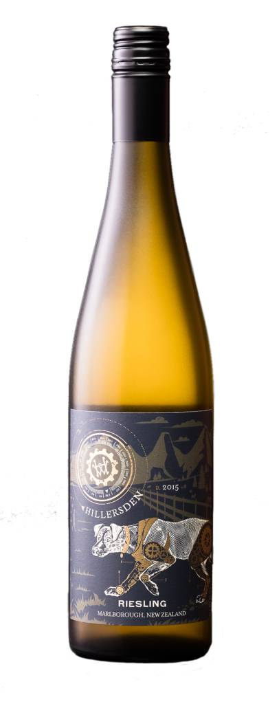 Hillersden Marlborough 2016 Riesling ABV: 11.5% 750 mL