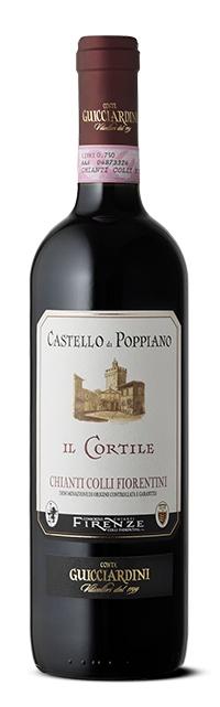 Castello di Poppiano Il Cortile 2015 Chianti ABV: 14% 750 mL