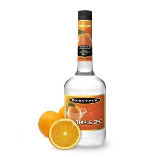 DeKuyper Tripel Sec Orange Liqueur ABV: 43% 1 L