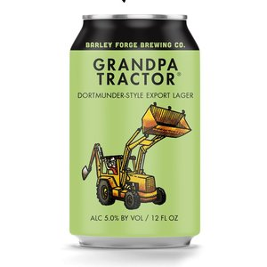 Grandpa Tractor Dortmunder Lager ABV: 5% Can 12 fl oz 6-Pack