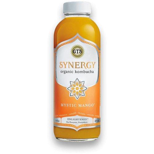 GT's Organic Kombucha Synergy Mystic Mango 16 fl oz