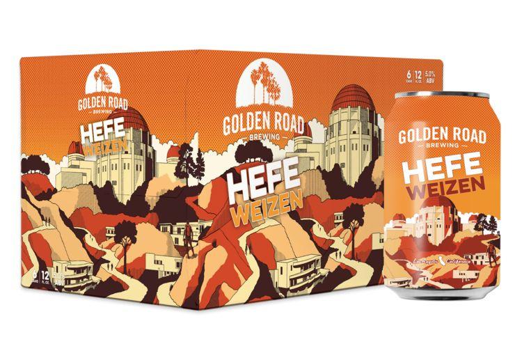 Golden Road Hefeweizen ABV: 5% Can 12 fl oz 6-Pack
